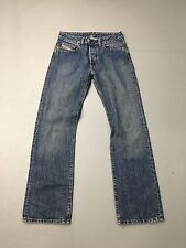 Mens Diesel 'Straight' Jeans - W29 L32 - Navy Wash - Great Condition
