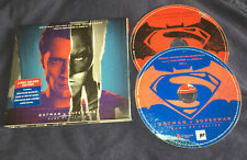 BATMAN v SUPERMAN Soundtrack 2 CD Disc Deluxe Edition Hans Zimmer