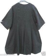 SARAH SANTOS Leinen  Mantel Summer Linen Coat Manteau XL 48 50 Lagenlook