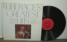 LIBERACE Greatest Hits, original Columbia vinyl LP, 1970, VG+, piano