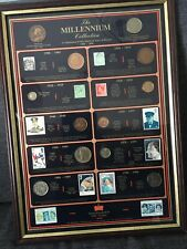 More details for the millennium collection 1900-2000 genuine historic coin & stamp collection