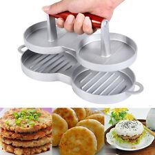 Nonstick Hamburger Meat Beef Grill Double Burger Press Patty Maker Kitchen Mold