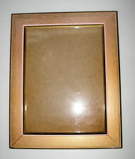Cornice rosa antico porta foto in legno con vetro 30x24 cm.