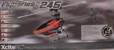 FLYBARLESS 245 3D SINGLE 6 KANAL RC Helikopter Ohne Sender