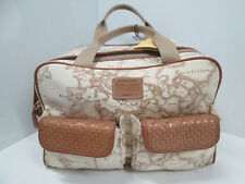 """ ALVIERO MARTINI "" BEAUTY CASE IN STOFFA/PELLE 31X20X18cm -Col.BEIGE -ORIGINALE"