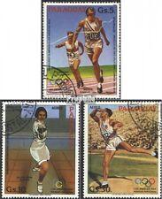 Paraguay 3629-3631 (kompl.Ausg.) gestempelt 1983 Olymp. Sommerspiele ´84, L. A.