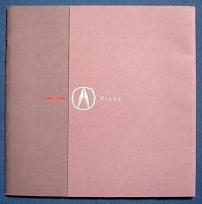 Prospekt brochure 1992 Acura Vigor (USA)