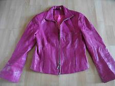 MADELEINE tolle Lederjacke pink Gr. 36  315