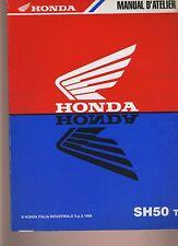 (42) REVUE TECHNIQUE MANUEL ATELIER MOTO HONDA SH50 t