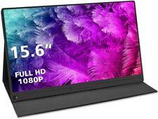 Uperfect 15,6 Zoll Tragbarer USB-C Monitor IPS 1920x1080 Full HD HDMI Typ-C