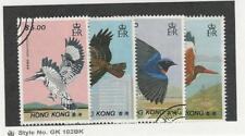 Hong Kong, Postage Stamp, #519-522 Used, 1988 Birds