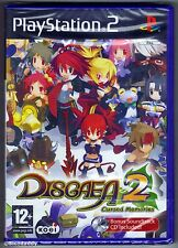 PS2 Disgaea 2 Cursed Memories, UK Pal ,Brand New & Sony Factory Sealed