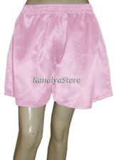 Pink Baby Women Cute Satin Short Pant Split Skirts Belly Dance Bloomers Indian