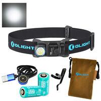 Olight H1R 600 Lumen CW LED Rechargeable Headlamp / Flashlight w/ 2x 16340