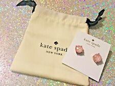 Authentic Kate Spade New York Enamel gumdrop studs earrings blush New