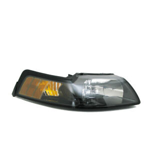 Headlight Assembly-NSF Certified Right TYC 20-5695-91-1 fits 01-04 Ford Mustang