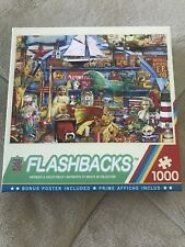 Master Pieces Flashbacks Antiques and Collectibles 1000 Piece Jigsaw Puzzle