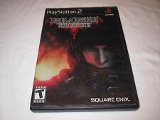 Final Fantasy VII: Dirge of Cerberus (Playstation PS2) Original Complete Vr Nice