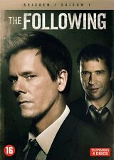 DVD - THE FOLLOWING  SEIZOEN 1  (KEVIN BACON)  (NEW SEALED)