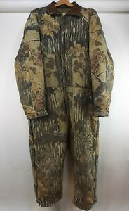 Vintage Walls Blizzard-Pruf Realtree Camo Insulated Coveralls Mens 2XL SHORT