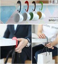 BagPin Handbag Hanger Backpack Hook Stylish Bag Table Holder (PIPI YELLOW)