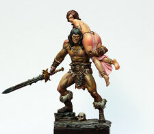 Black Sun The Barbarian & the Lost Princess 75mm Unpainted resin Kit