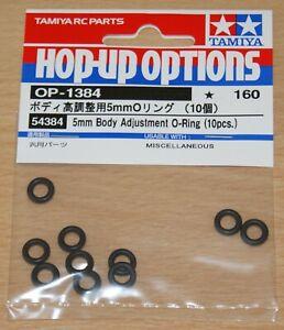 Tamiya 54384 5mm Body Adjustment O-Ring (10 Pcs.) (TT01/TT02/TRF419/TRF420), NIP