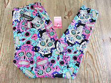 NEW Buttery Soft Sugar Skull Print Leggings Size 3X-5X