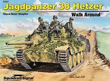 """20332/ Squadron Signal - Walk Around 27 - Jagdpanzer 38 """"Hetzer"""" - TOPP HEFT"""
