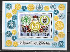 LIBERIA , UN , 1973 , WHO , SOUVENIR SHEET , PERF , MNH , CV$2.50