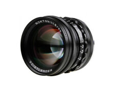 Voigtlander lens VM-mount 50 mm / F 1,5 Nokton, Aspherical, BLACK **NEW**