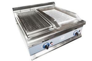 ACE Grill / Griddle 1/2 and 1/2 (LPG Gas) EN443