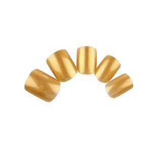WHOLESALE 3 sets/Lot 24pcs Full False Nails Short PRESS ON Artificial Nail Tips