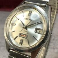 OH serviced, Vintage SEIKO SEIKOMATIC 26J 6206-8190 Automatic Mens Watch #379