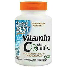 Doctor's Best DRB-00327 Vitamin C with Quali-C 1000 mg - 360 Veggie Caps