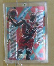 1995 - 1996 Fleer Metal Michael Jordan Scoring Magnet Basketball
