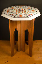 """Pietra Dura with Table Base - 13"""""""