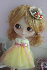 Blythe jaune Mesh Dress 30 CM Doll Outfit Fit Blythe azone lati pullip OB Kurhn