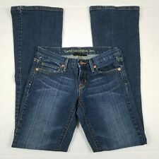 Levi's 422 Bootcut Jeans Womens Junior Size 1 25 Blue Low Rise Medium Wash Denim
