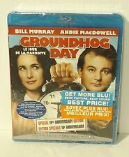 Groundhog Day (Blu-ray Disc, 2009, Canadian) NEW AUTHENTIC REGION A