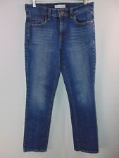 Levis 505 Straight Leg Women's Size 8 M Distressed Denim Jeans Casual Pants