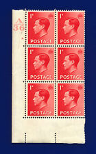 More details for 1936 sg458 1d scarlet p2 block (6) cyl #2 dot ctrl a36 perf 5(e/i) mfg dhlx
