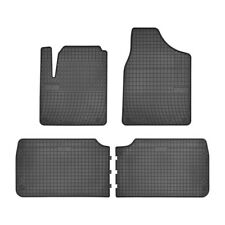 Tappetino IN GOMMA NERI per FORD GALAXY 95-06 SEAT ALHAMBRA VW SHARAN 95-10