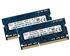 2x 4gb 8gb ddr3 RAM 1600 MHz Apple iMac late 2013 14,1 14,2 Hynix 0x80ad ddr3l