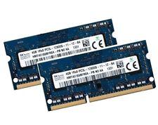 2x 4GB 8GB DDR3 RAM 1600 Mhz Apple iMac Late 2013 14,1 14,2 Hynix 0x80AD DDR3L