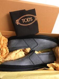 Tod's Men's Molveno Espadrille Slip-On Sneakers, Size 11d