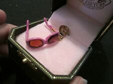 NWT 2006 Juicy Couture Pink Sunglasses charm IOB