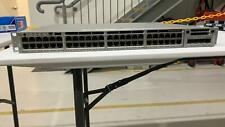 Cisco WS-C3850-48P-S 48-Port Full POE+ w/ C3850-NM-2-10G DUAL PSU