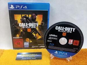 Call Of Duty Black Ops IV 4 PS4 / PLAYSTATION 4 USK18 comme Neuf