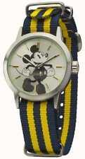 Ingersoll Disney Blue - Yellow Nylon Strap Unisex Mikey Watch DIN006SLYL